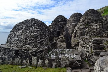 Monastery on Skellig Michael- Luke Skywalker's Ahch-To Island Sanctuary in Star Wars: The Last Jedi