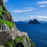 View of Small Skellig from the Path on Skellig Michael