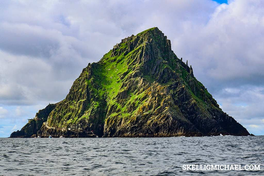 Skellig Michael Approach from East